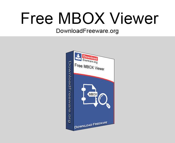 Windows 7 Free MBOX Viewer 1.0 full