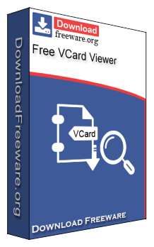 A freeware vcard viewer program to open vcard files instantly with.